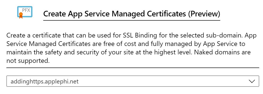 Create App Certificate
