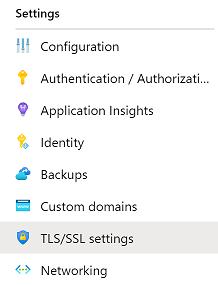 TLS/SSL Settings